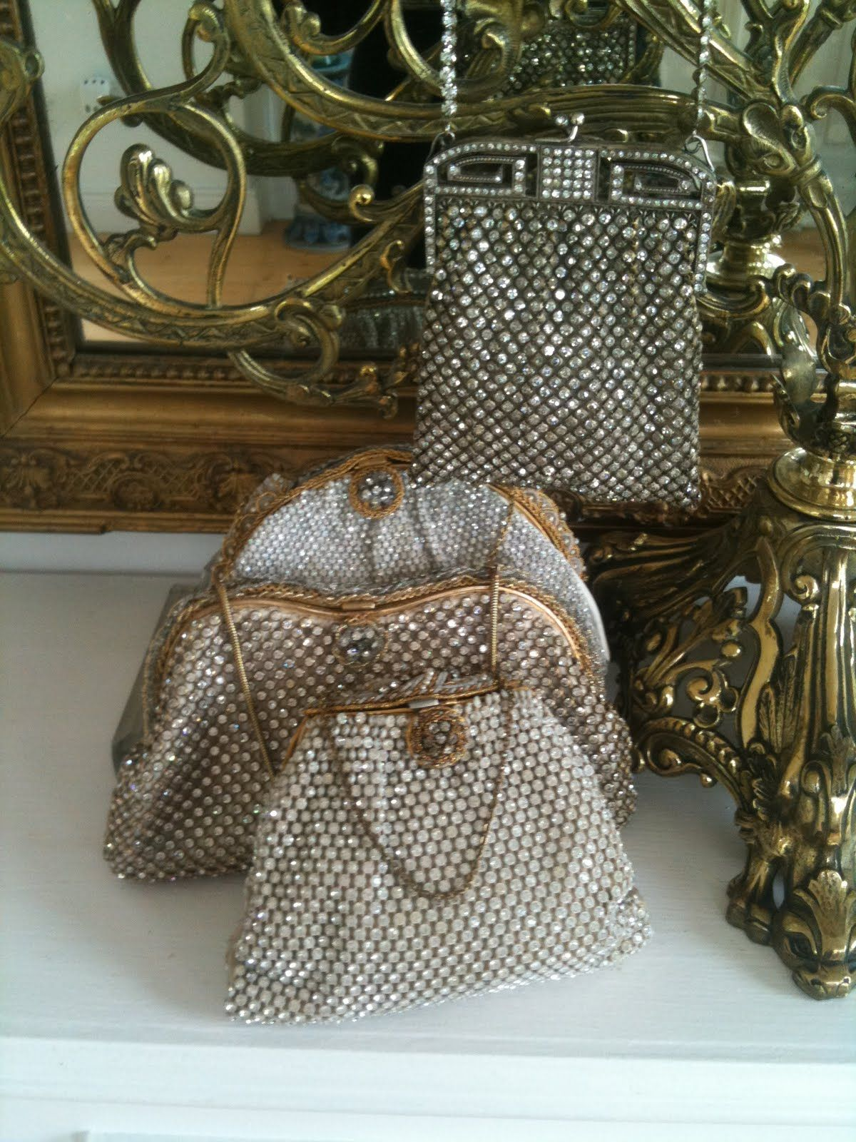 c7213935e2 Jewelled purses.