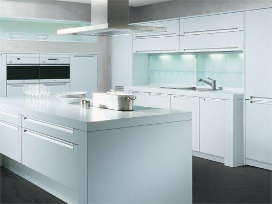 Weiße Hochglanz Küche Allmilmo | Home Design | Pinterest