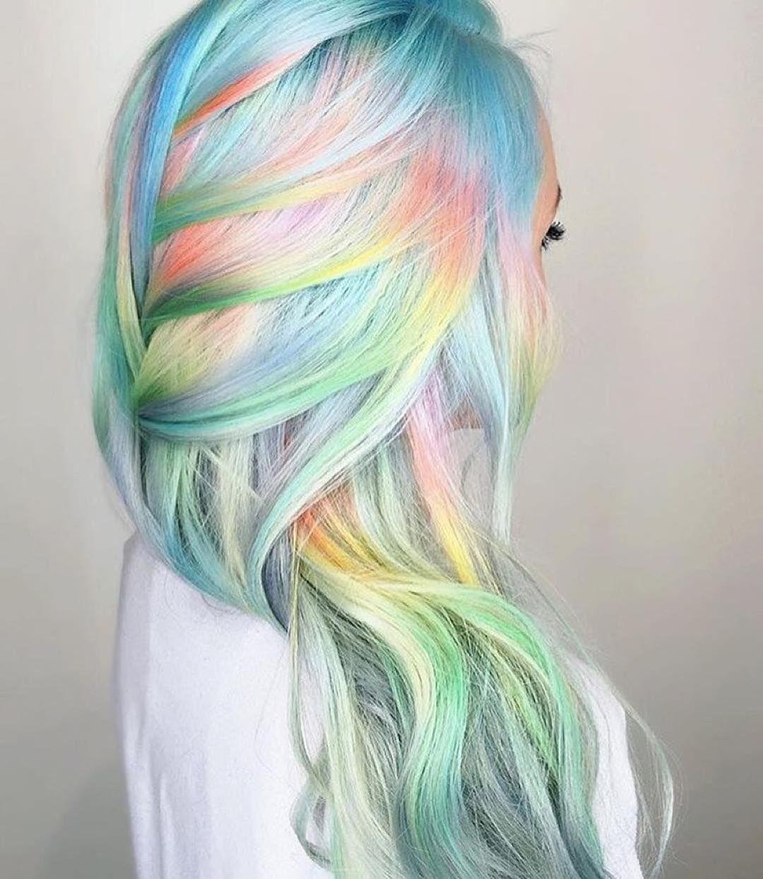 mesmerizing mermaid hair color ideas u real life fantasy hair