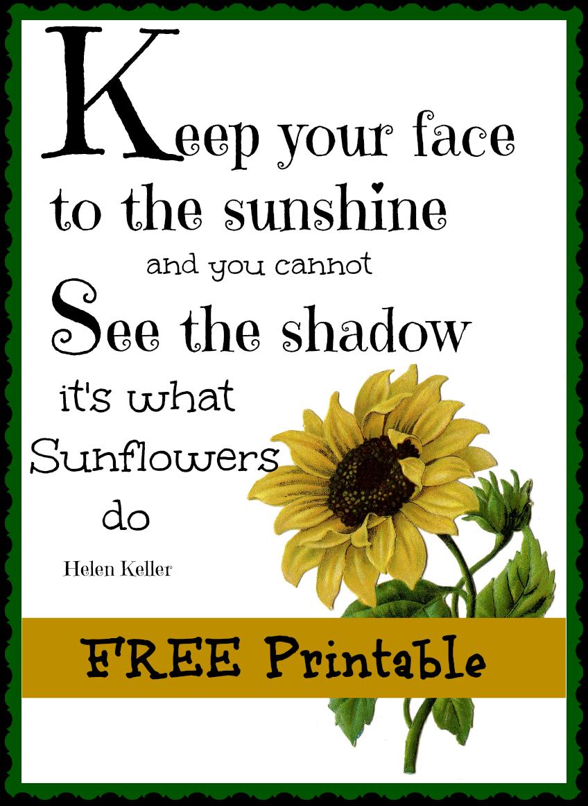 21 Free Printables For October Debbiedoos Free Printable Quotes Sunflower Printable Free Printables