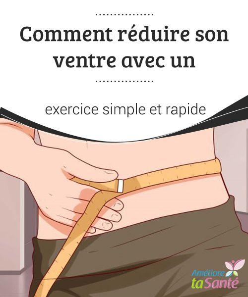 Comment réduire son ventre avec un exercice simple et ...