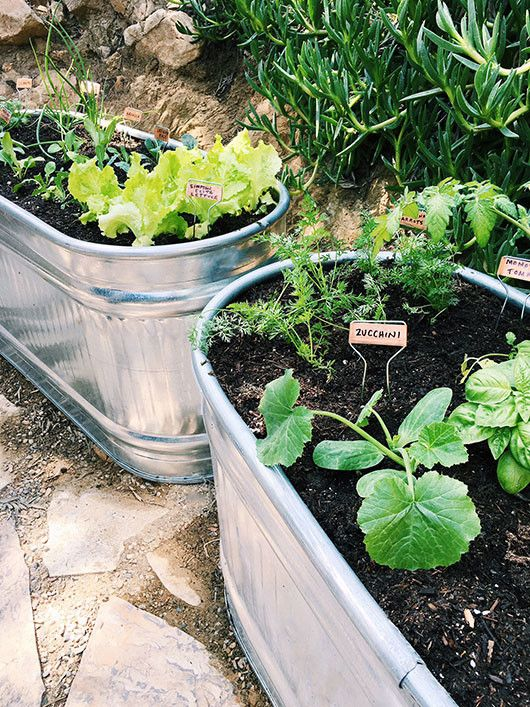 vegetable containers: weekend project. | sfgirlbybay | Bloglovin'