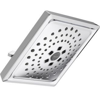 Delta 52684 Chrome 1 75 Gpm Universal 7 5 8 Wide Multi Function Shower Head With H2okinetic Technology Limited Lifetime Warranty In 2021 Raincan Shower Shower Heads Delta Faucets
