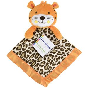 Garanimals Tribal Tales Security Blanket With Plush Animal