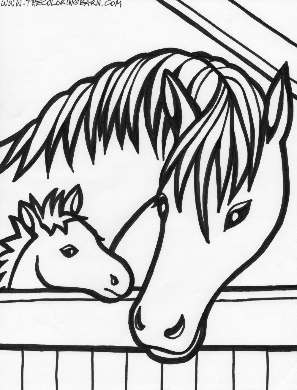 A Horse Of Course Horse Coloring Pages Horse Coloring Books