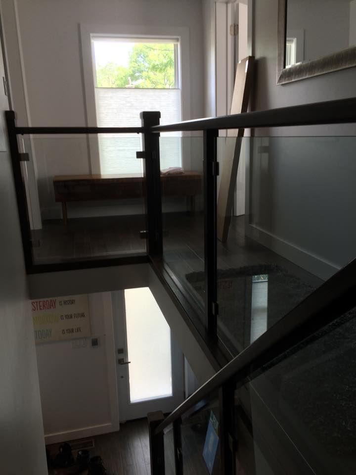 Best 10Mm Clear Tempered Glass Stair Railing Grandriverglass 400 x 300
