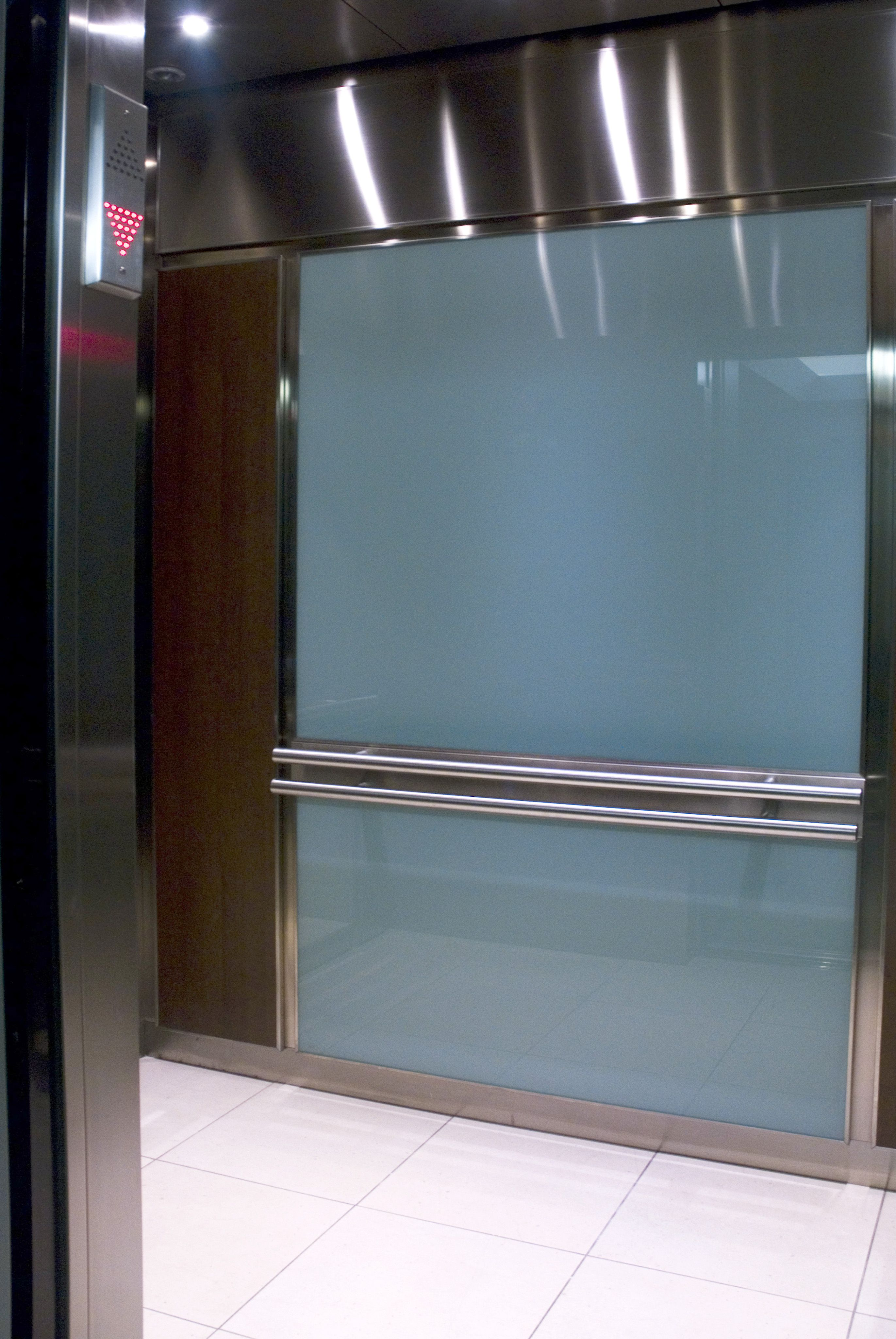 Back-painted glass panels can take on any colour to match your ...