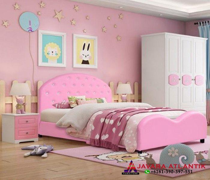 Ide Konsep Set Kamar Tidur Anak perempuan Minimalis Modern ...