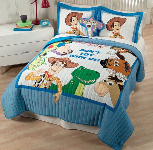 Effigy Of Toy Story Bedroom Decor For Kids