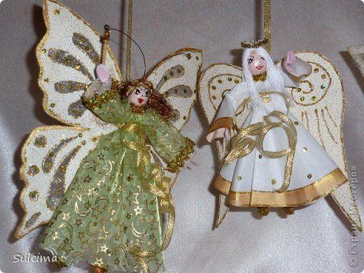 Ангелы и феечки на елку (новогодняя игрушка ...