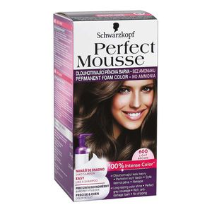 Perfect Mousse 600 Light Brown Permanent Foam Color | Products ...