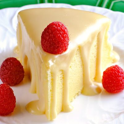 Japanese Cheesecake with Ginger White Chocolate Ganache....interesting