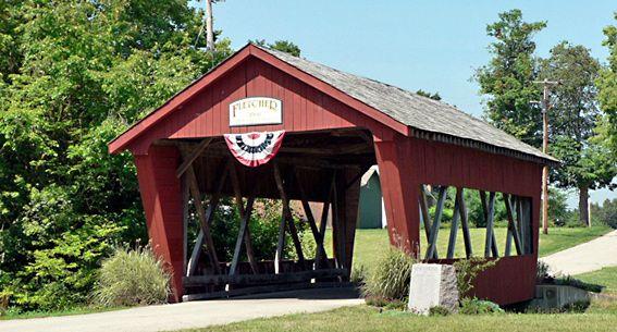 Fletcher Covered Bridge, Miami County, Ohio