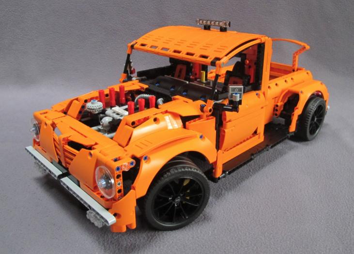 Lego Technic 42056 BModel Hot Rod Lego, Lego technik