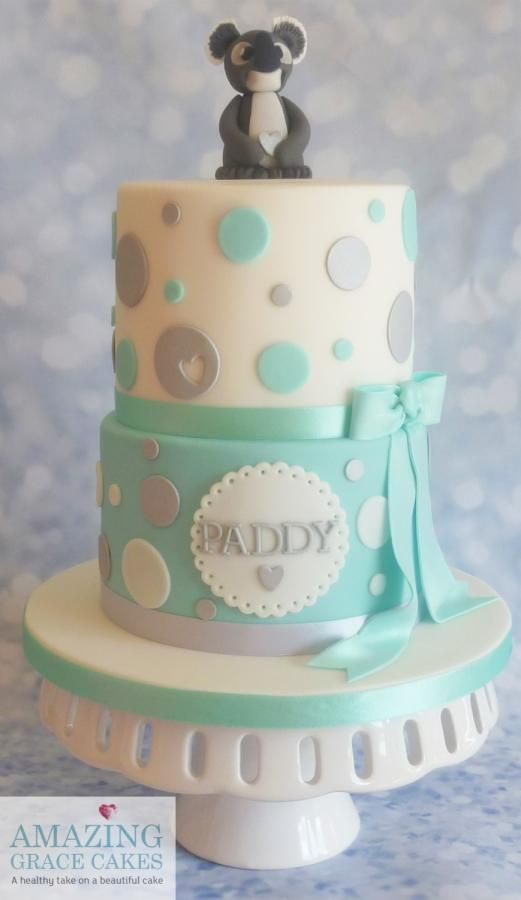 Koala Bear Themed Baby Shower : koala, themed, shower, Koala, Shower, Amazing, Grace, Cakes, Cakes,, Girl,