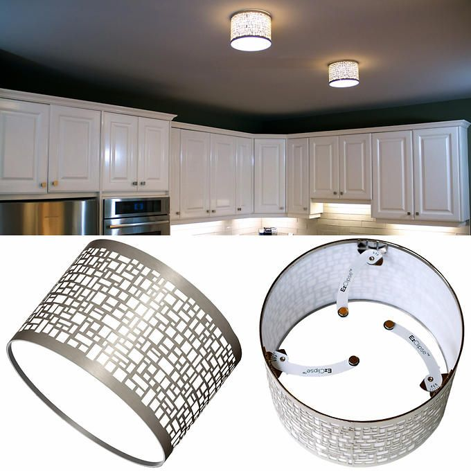 EzClipse Magnetic Recessed Light Shade 2-pack | Lighting ...