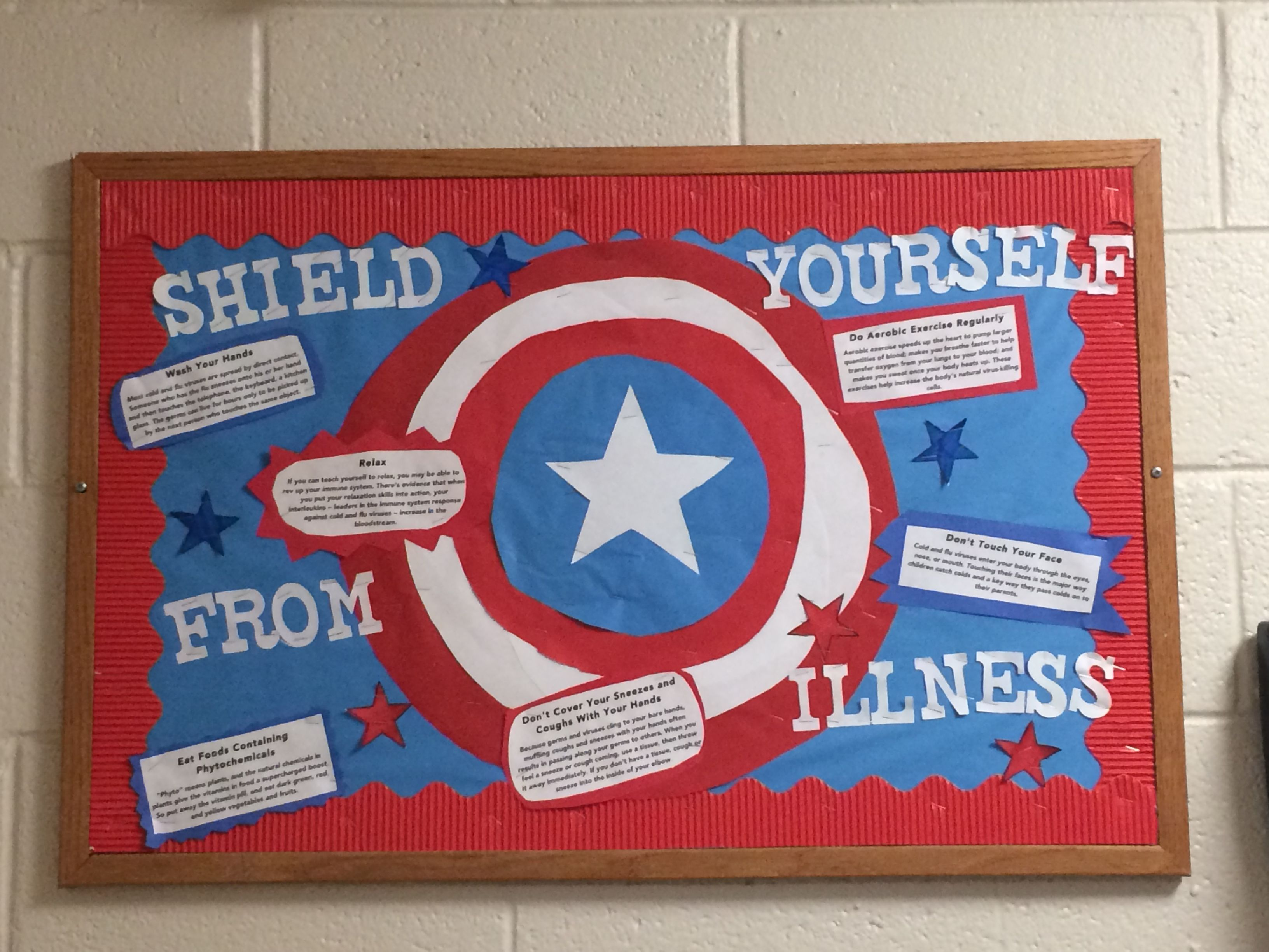 Superhero Bulletin Board- Shield Yourself From Illness Captain America RA Bulletin Board #rabulletinboards Superhero Bulletin Board- Shield Yourself From Illness Captain America RA Bulletin Board #rabulletinboards Superhero Bulletin Board- Shield Yourself From Illness Captain America RA Bulletin Board #rabulletinboards Superhero Bulletin Board- Shield Yourself From Illness Captain America RA Bulletin Board #rabulletinboards