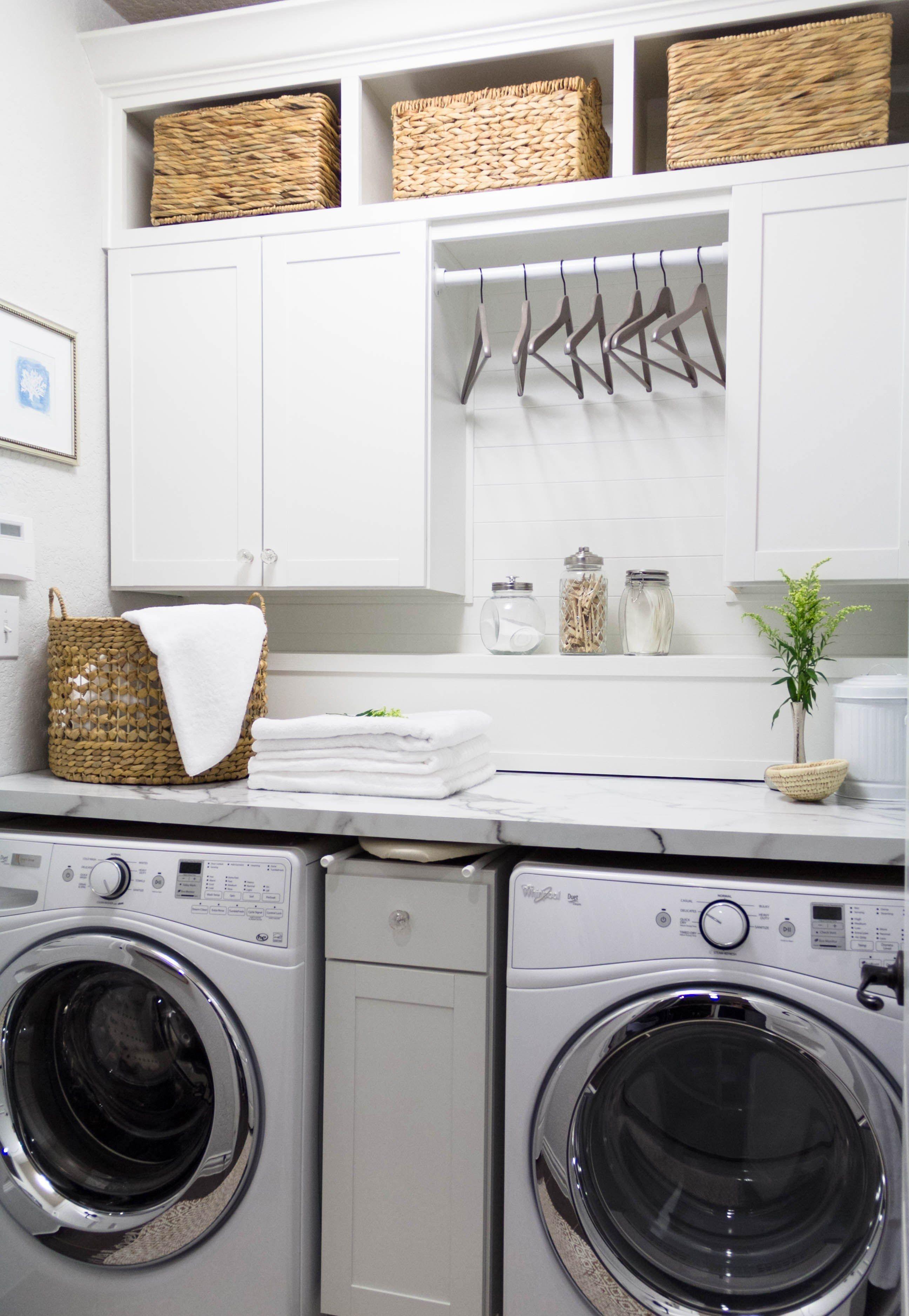 Basement laundry room ideas DIY design space saving dream homes how