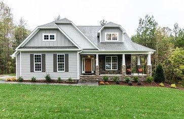 Light Gray Siding Design Ideas Pictures Remodel And Decor Exterior House Colors Gray House Exterior Craftsman Exterior