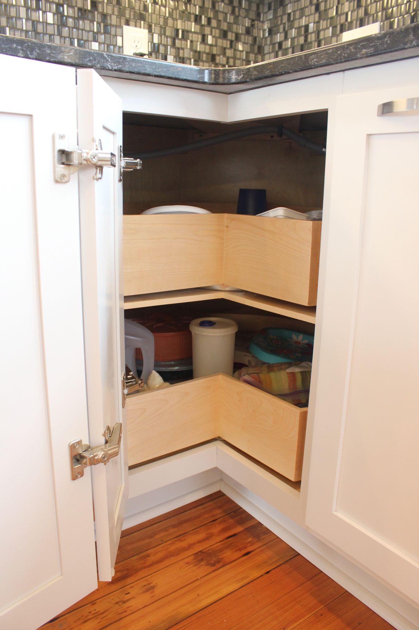 Lazy Susan kitchen cabinet | Cabinet, Kitchen cabinets