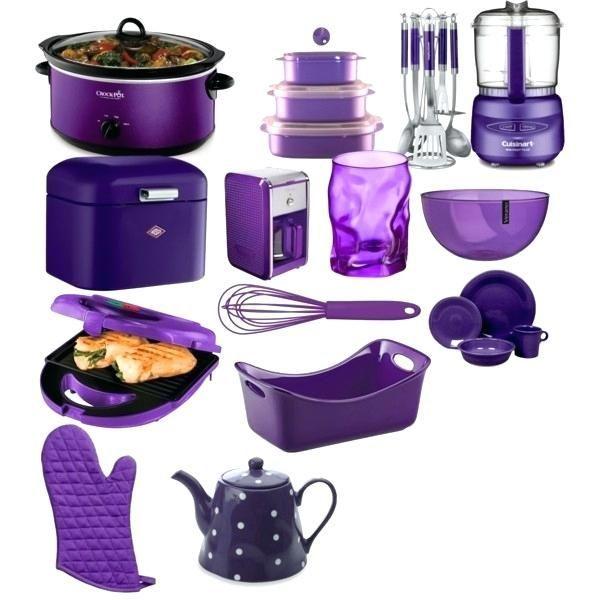 Purple Kitchen Decor Accessories