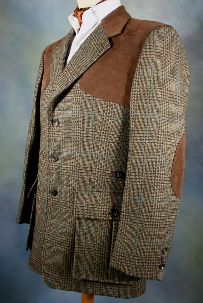 Kinghorn Tweed Shooting Jacket Tweed Shooting Jacket Vintage Mens Blazer Steampunk Men Clothing
