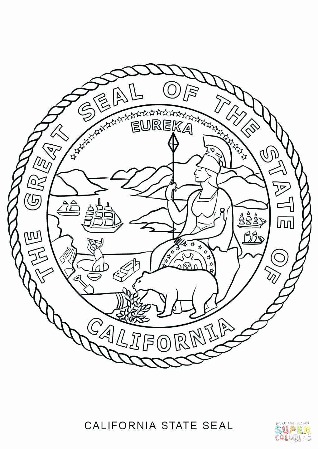 Michigan State Flag Coloring Page Beautiful Virginia State Flag