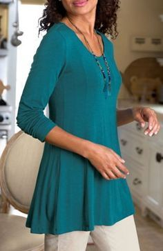 e60a0851ff0 Tunics: The Perfect Fashion for Women Over 50 | ZestNow | Over 50 ...