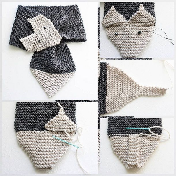 Как связать шарф \