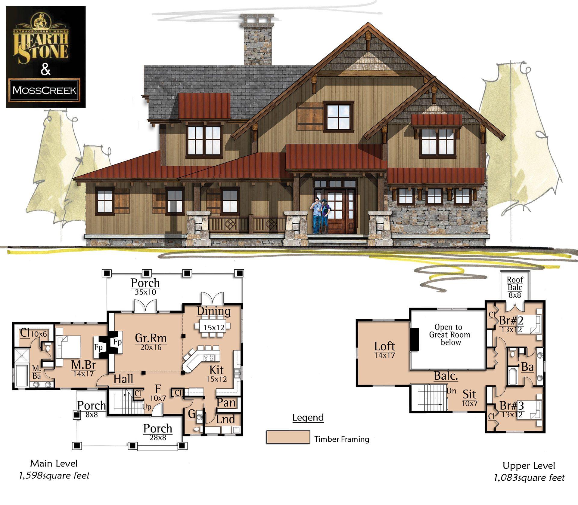 Brilliant Camas Creek Cabins House Plans Future House House Download Free Architecture Designs Embacsunscenecom