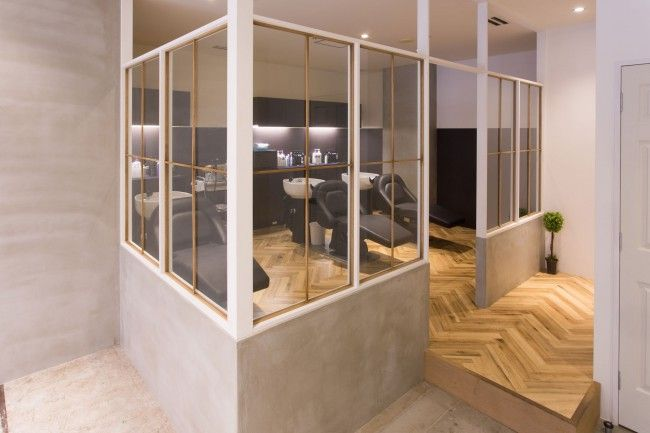 サロン制作事例 美容室 サロン の設計 内装 デザイン タフデザインプロダクト デザイン 内装 サロンインテリアデザイン