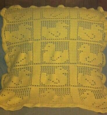 Filet Crochet Blanket I Did For Selah 2012 Crochet Baby Blankets