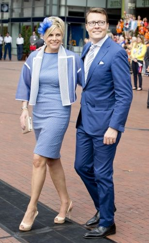dutch kingsday 2014 dutch royal family prince constantijn and princess laurentien. Black Bedroom Furniture Sets. Home Design Ideas