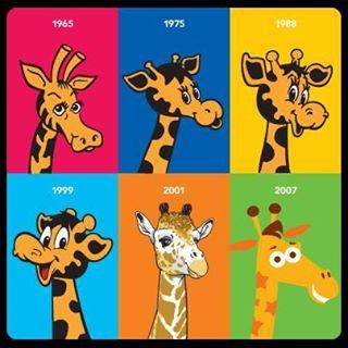Geoffrey Through The Years Toys R Us Toys R Us Giraffe Toys R Us Mascot Toys R Us Logo