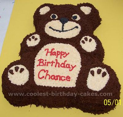 Adorable Homemade Teddy Bear Childrens Cakes and Decorating Tips