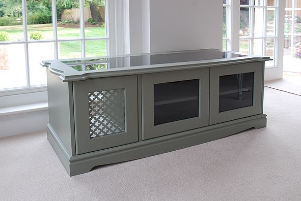 Bespoke AV cabinet in French grey | Furniture | Pinterest | French ...