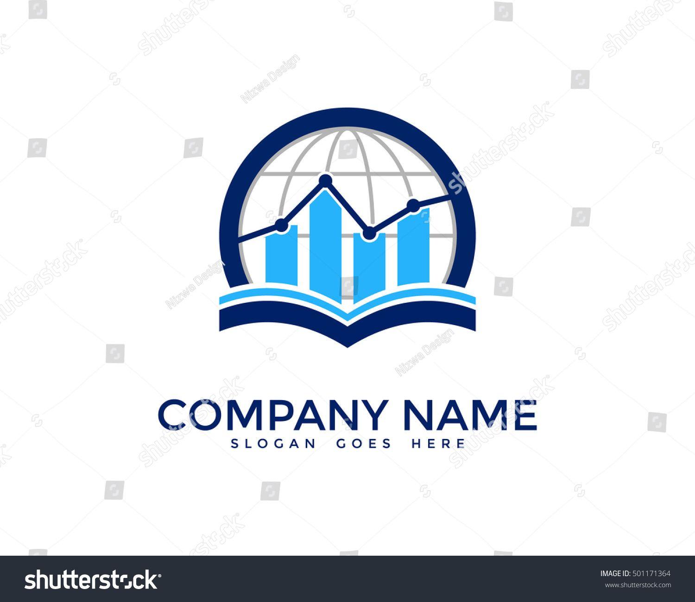 Trade Market Global Finance Report Logo Design Template Ad Affiliate Global Finance Trade Mar Logo Design Template Photography Business Cards Logo Design