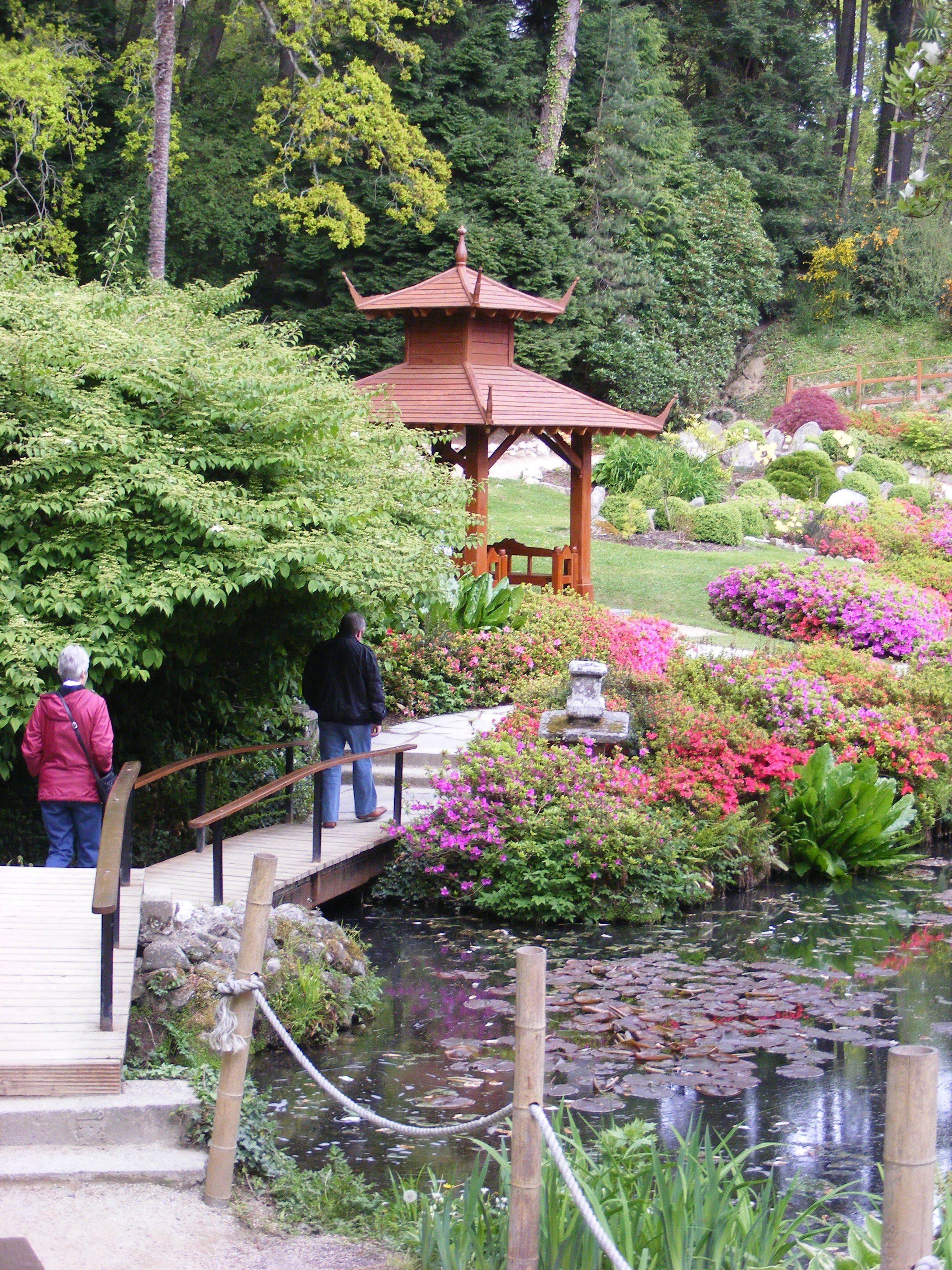The Japanese Gardens In Powerscourt, Powerscourt Estate