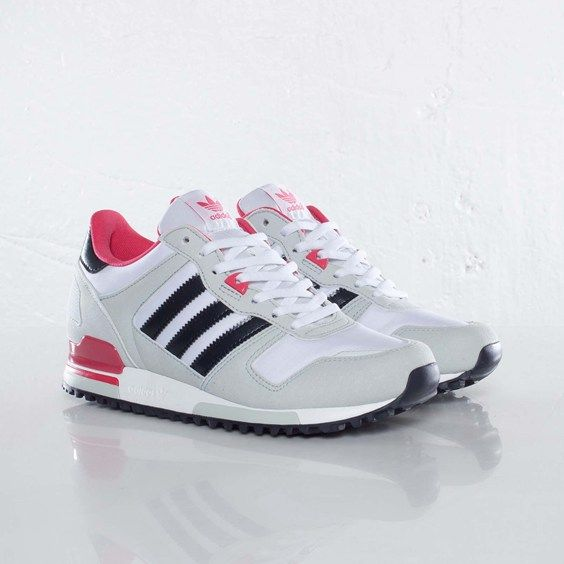 Adidas Zx700 White Sneakers Women Trendy Womens Sneakers Pink Sneakers