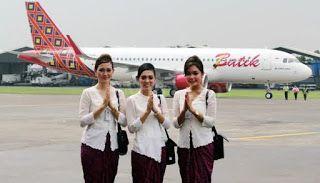 Menghitung Besaran Gaji Pramugari Batik Air Pramugari Batik Penerbangan