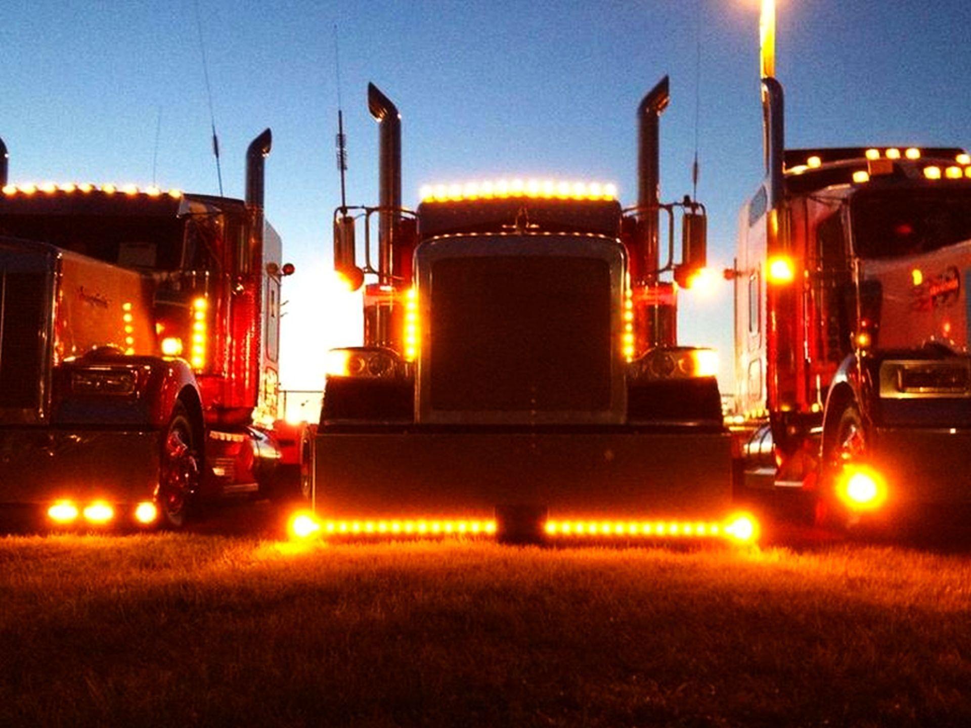 Chicken Lites Big Trucks Trucks Peterbilt Trucks
