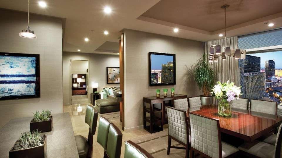 Two Bedroom Penthouse In Las Vegas ARIA Resort Casino ARIA Stunning Two Bedroom Suites Las Vegas Hotels Design
