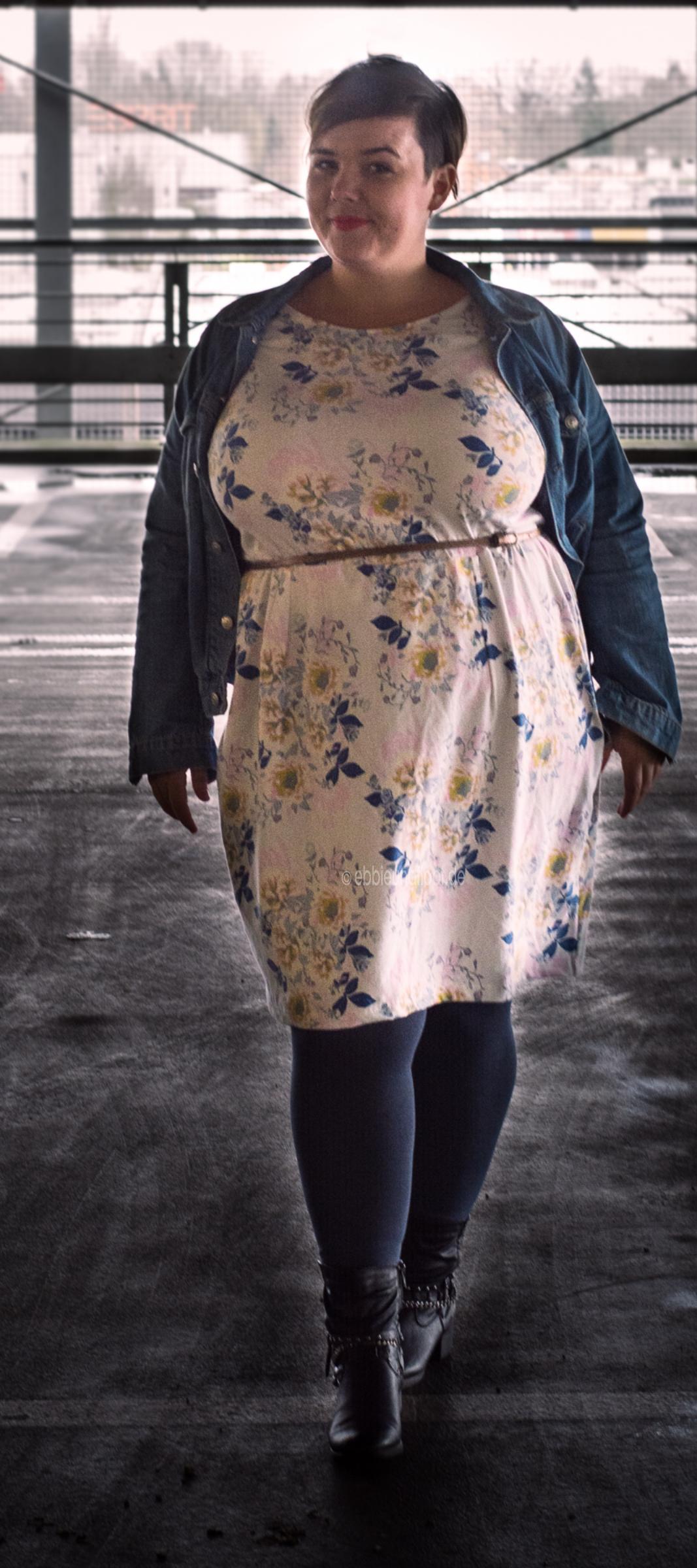 plus size kleid: selbstgenähtes und eine shopvorstellung