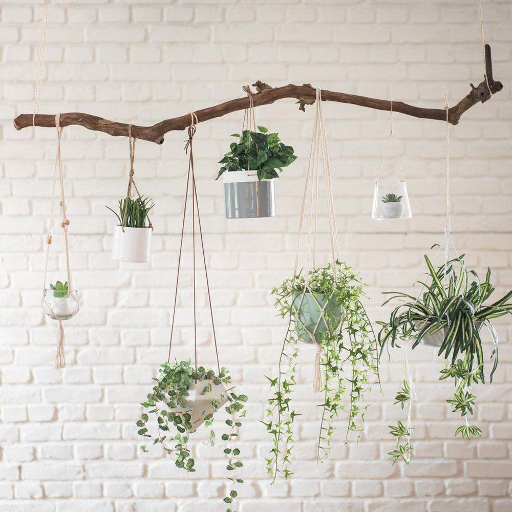 Decoration Petit Pot De Fleur 20 pots de fleurs suspendus et irrésistibles !   déco