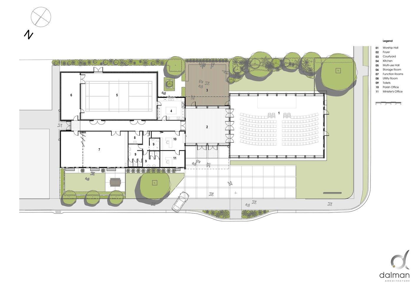 Christchurch North Methodist Church Floor Plan Church Design Church Architecture Methodist Church