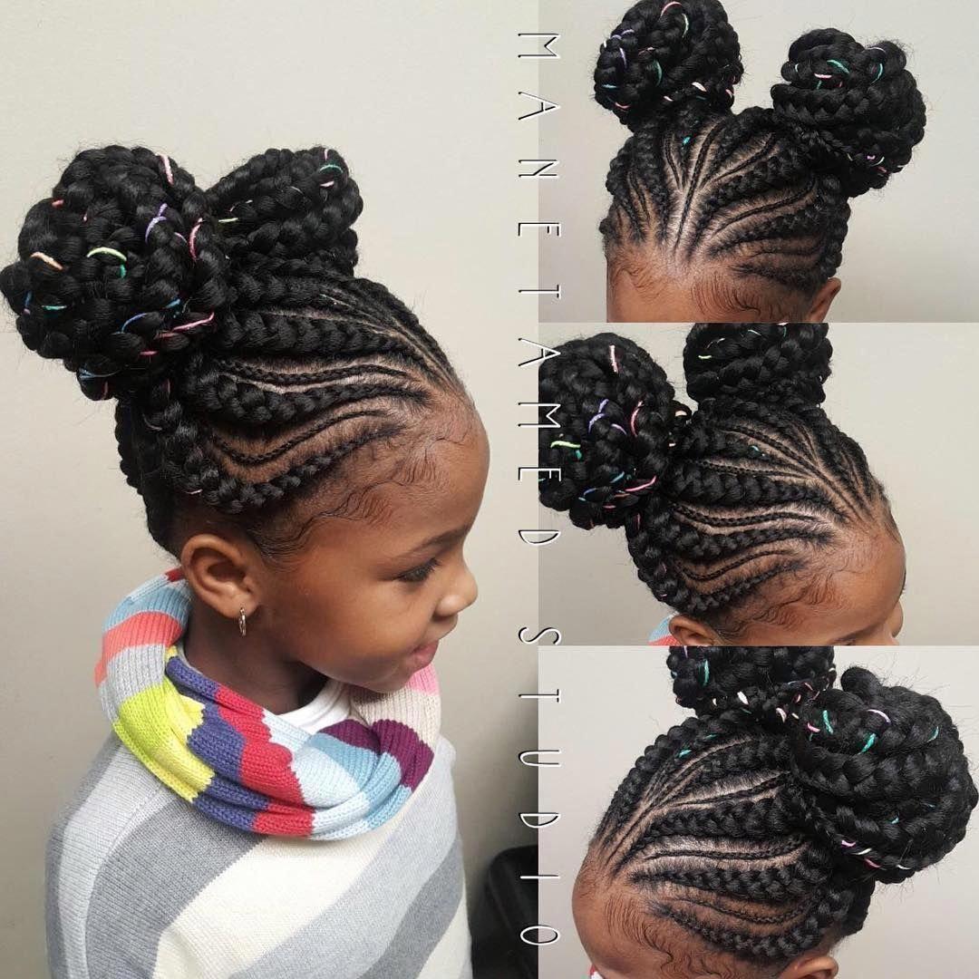 Best Short Hairstyles For Women Cool Hairstyles Kids Cute Quick Kid Hairstyles 20190211 Braided Bun Hairstyles Kids Hairstyles Little Girl Hairstyles