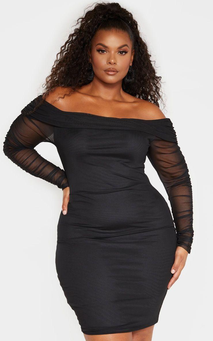 Plus Size Black Long Sleeve Bodycon Dresses Black Bodycon Dress Long Sleeve Bodycon Dress Long Sleeve Bodycon Dress [ 1180 x 740 Pixel ]