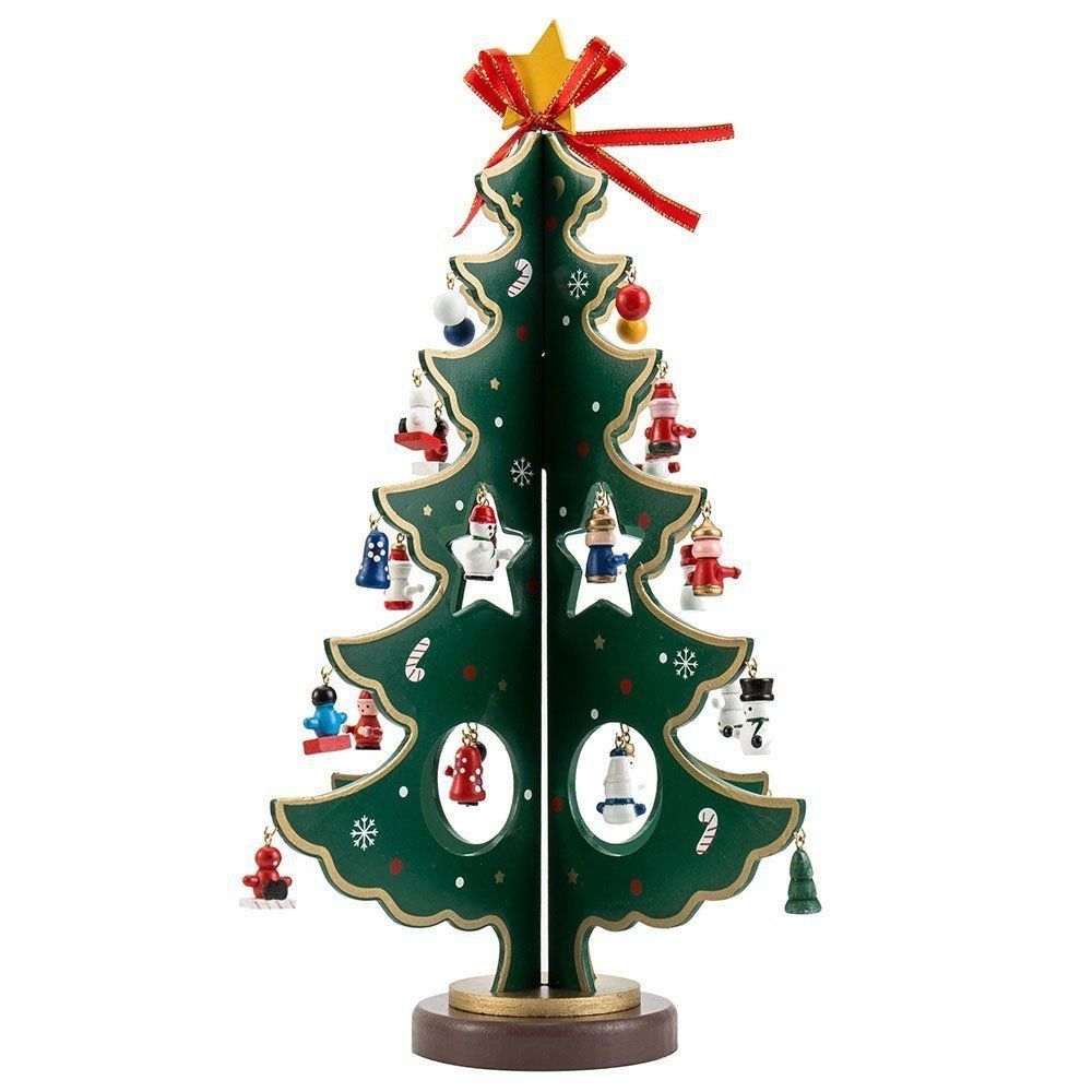 Superior Christmas Ornament · Wooden Tabletop Christmas Tree ...