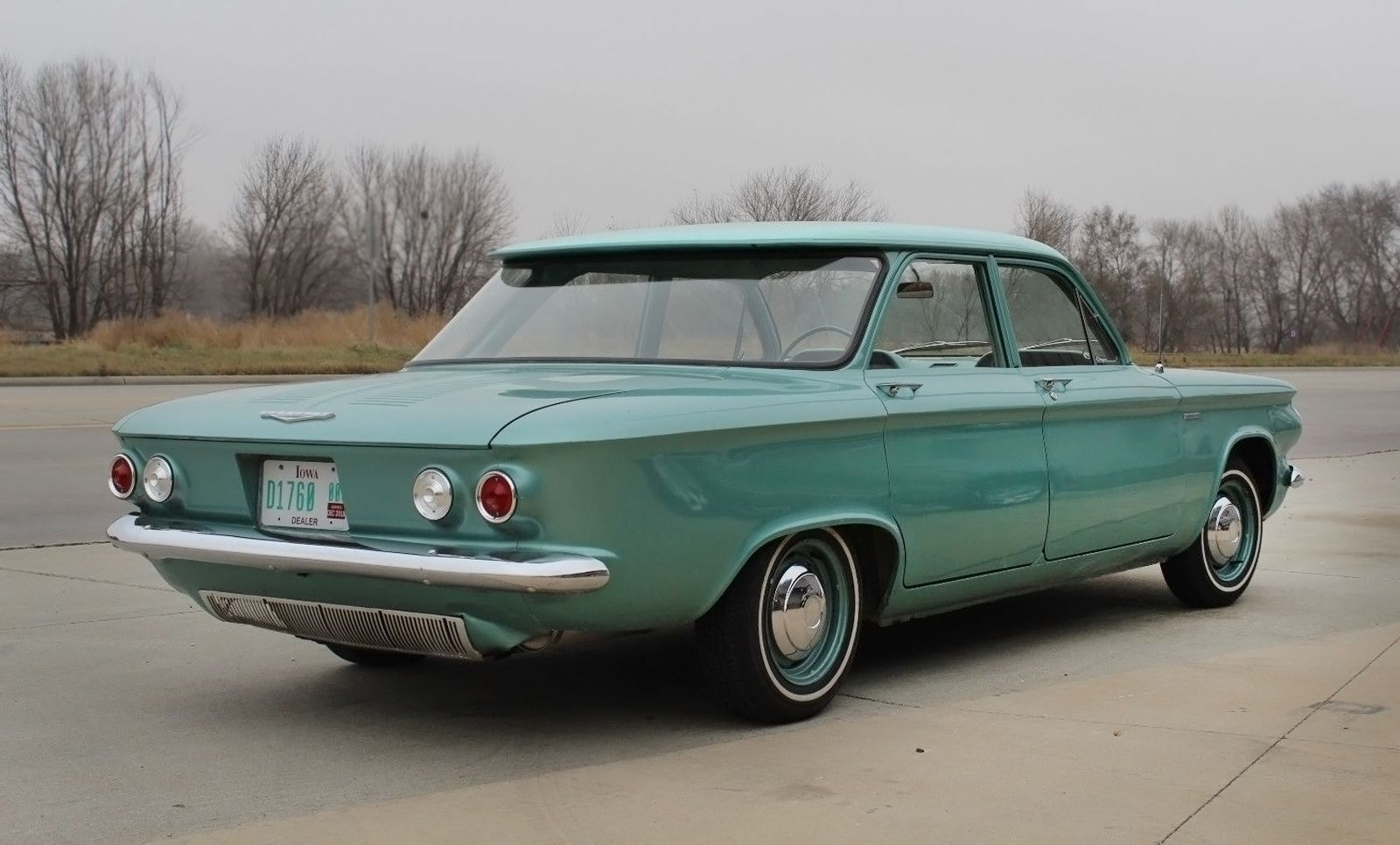 Rust Free Survivor 1961 Chevrolet Corvair 500 Chevrolet Corvair Classic Cars Chevy Corvair