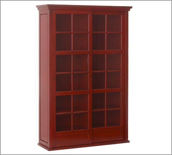 Bon Garrett Glass Cabinet | Pottery Barn STATEMENT